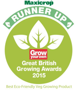 Grow Your Own Runner up award Maxicrop